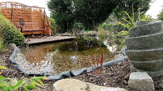 Teichbau for Garten randgestaltung